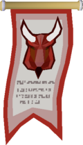 Lesser Demon Champion's banner