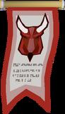 Lesser Demon Champion's banner
