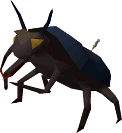 Giant scarab