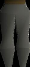 Lumberjack legs detail