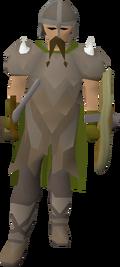 Honour guard (brown beard)