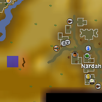 Hot cold clue - Genie cave map