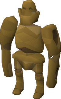 Rock golem pet