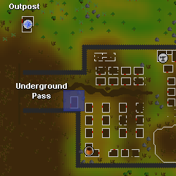 Dark mage (Underground Pass) location