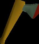 Adamant axe detail