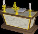 Gilded altar