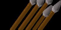 Steel arrow