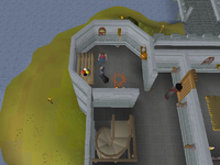 Cryptic clue - talk to wizard mizgog