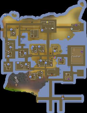 Piscarilius House map