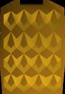 Gilded chainbody detail