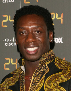 24 150th Episode & S7 Premiere Party- Hakeem Kae Kazim