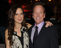Kiefer Sutherland Mary Lynn Rajskub TCA party