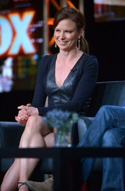 24 LAD- Mary Lynn Rajskub at 2014 show announcement panel