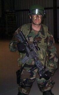 24 Day 7- Arlo Hemphil as FBI SWAT