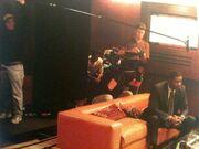 Day 2 Filming Haysbert