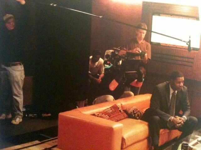 File:Day 2 Filming Haysbert.jpg