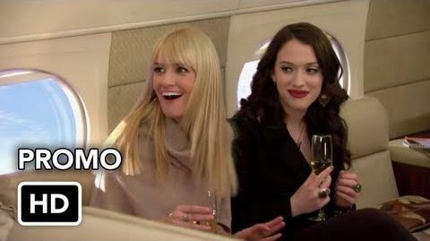 "2 Broke Girls 2x16 Promo ""And Just Plane Magic"" (HD) ft"