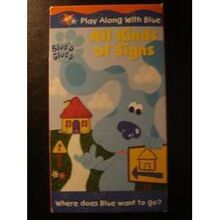 Blue's Clues All Kinds Of Signs VHS Popscreen