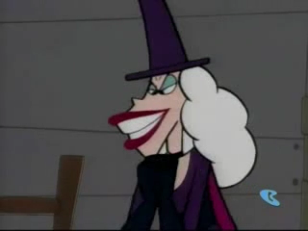 Stupid Dogs Red Riding Hood Witch