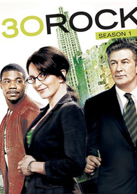 30 Rock Season One DVD Cover
