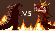 SCREAMING LOBSTER VS GODZILLA