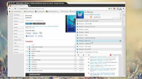 Chrome Last.fm free music player = awesome-0