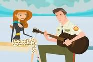 Ron Singing
