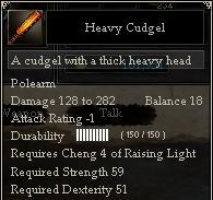 Heavy Cudgel