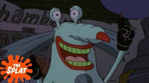 Gromble Analyzes Humans Aaahh!!! Real Monsters The Splat