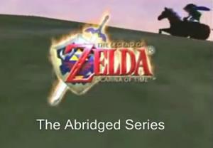 Legend of Zelda (adamwestlapdog) Abridged title block