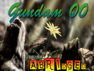 Gundam 00 abridged logo