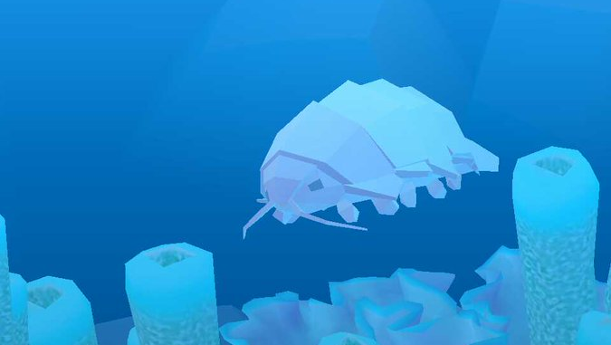 Giant isopod abyssrium wikia fandom powered by wikia for Tap tap fish all hidden fish