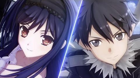 Accel World vs Sword Art Online - New Years Showcase Announcement Trailer