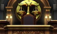 Judge's seat