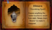 Dimere vanishing spell