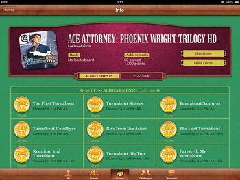 AA Trilogy Achievements