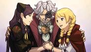 Happy Labyrinthian trio