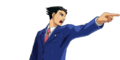 PXZ2 Phoenix Wright (zoom) - objecting (right).png