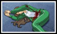 Courte crime scene