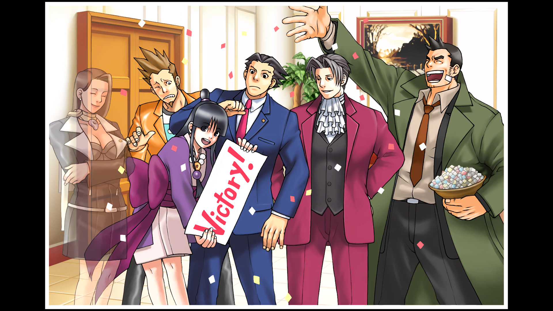 Dick Gumshoe Ace Attorney Wiki Wikia