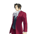 PXZ2 Miles Edgeworth (full) - smiling.png