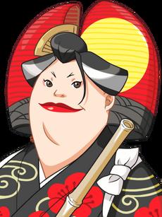 Plum Kitaki Portrait