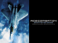 Ace Combat 04 F-22A Wallpaper 1024x768