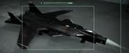 Su-47 Razgriz 2 color Hangar
