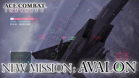 Ace Combat Infinity - Avalon Trailer (English)