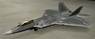 F-22A Standard color hangar