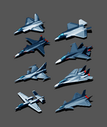 Ace Combat Northern Wings Aircraft