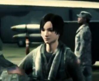 Kei Nagase in Assault Horizon