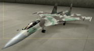 Su-37 Knight color hangar