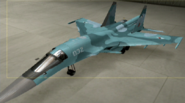 Su-34 Standard color hangar